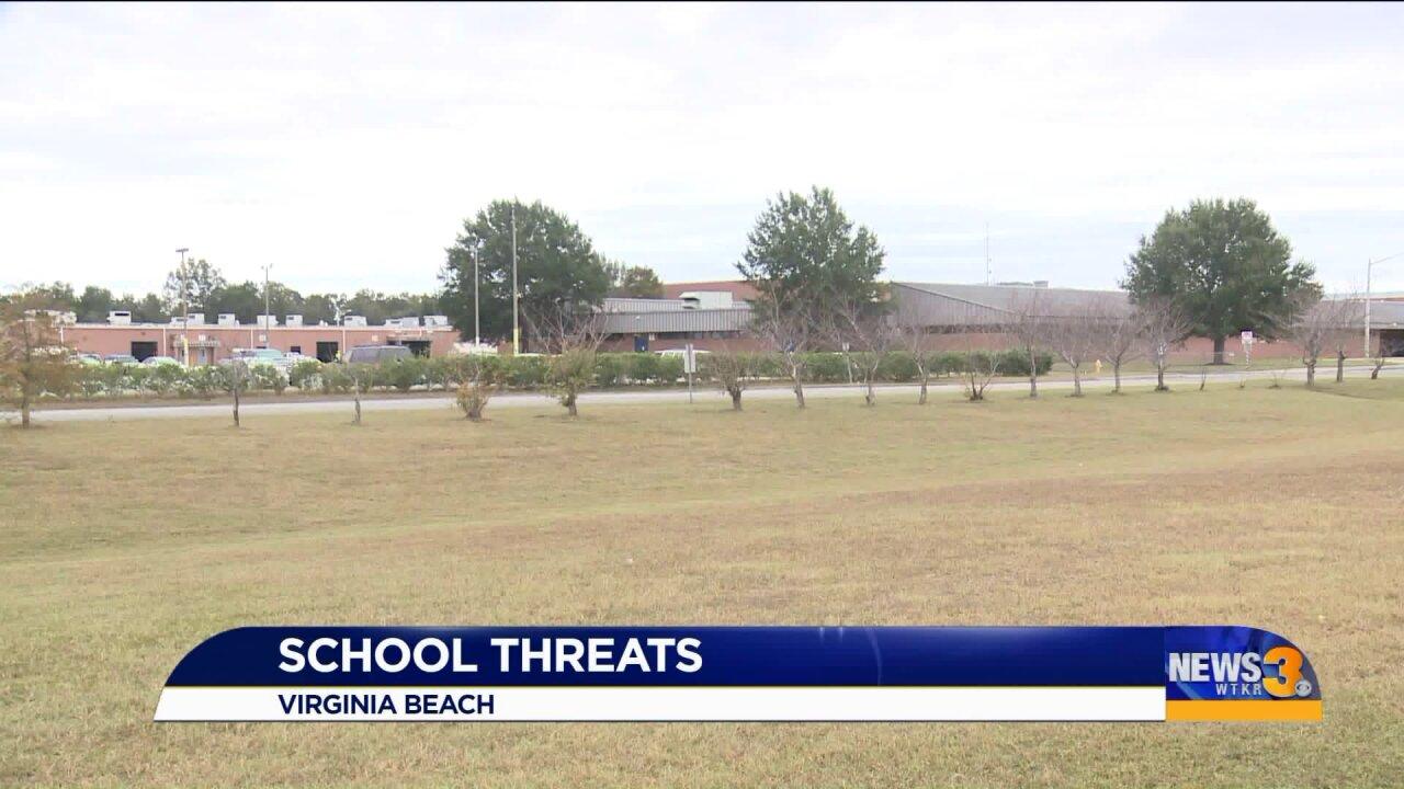 Threatening message found at Kempsville HighSchool
