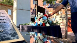 People in Pueblo gathered at 7:58 am o September 11, 2021, recognizing 20 years since the Twin Towers were attacked.