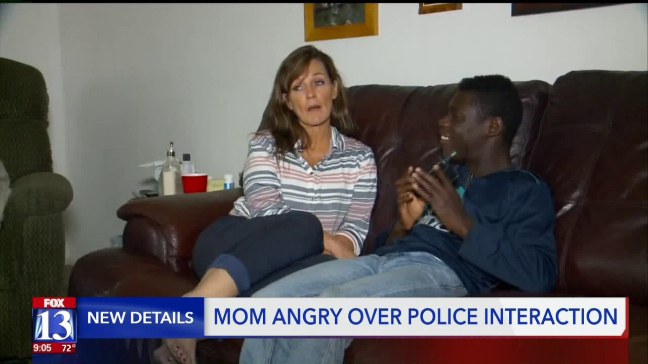 Mom wants answers after Utah officer points gun at young black boy during search for shooting suspects