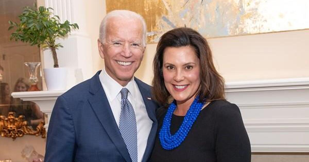 Joe Biden hosts virtual roundtable with Gov. Whitmer