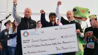Photos: Polar Plunge in Virginia Beach raises $1.185 million for Special Olympics Virginia