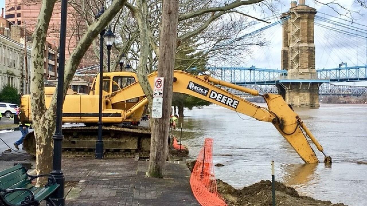 What Greater Cincinnati's doing as river rises