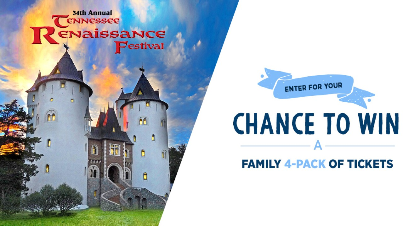 The Tennessee Renaissance Festival Sweepstakes