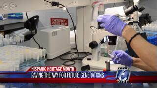Hispanic scientists inspiring the next generation