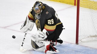 Fleury signs three-year extension with Golden Knights
