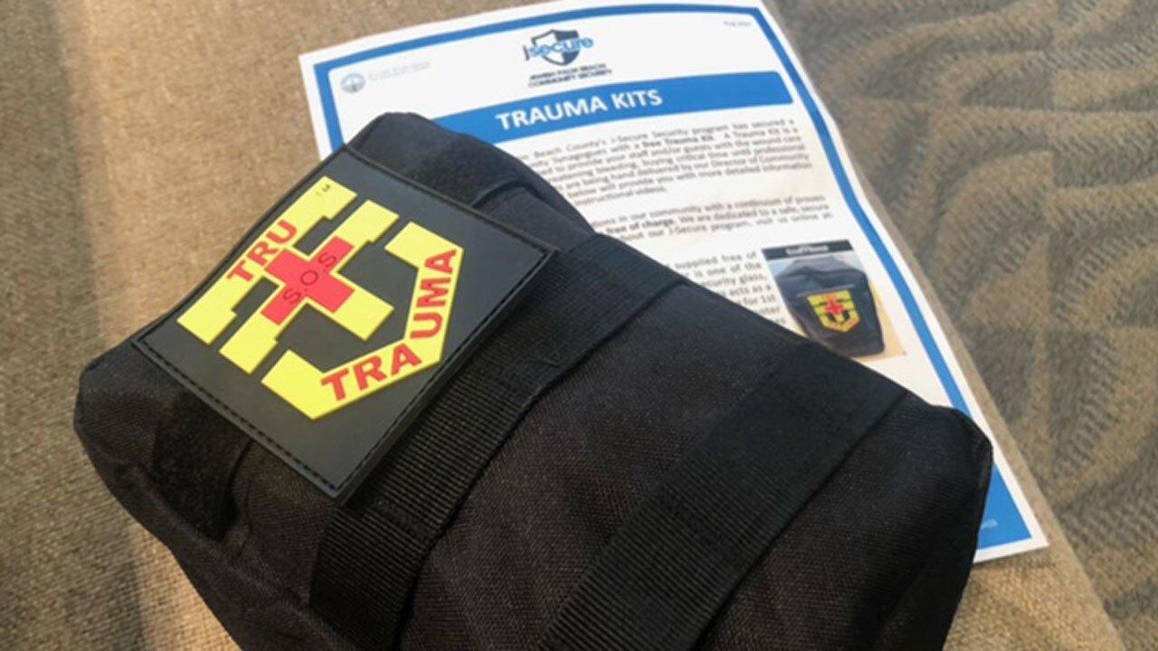 Trauma kits at synagogues
