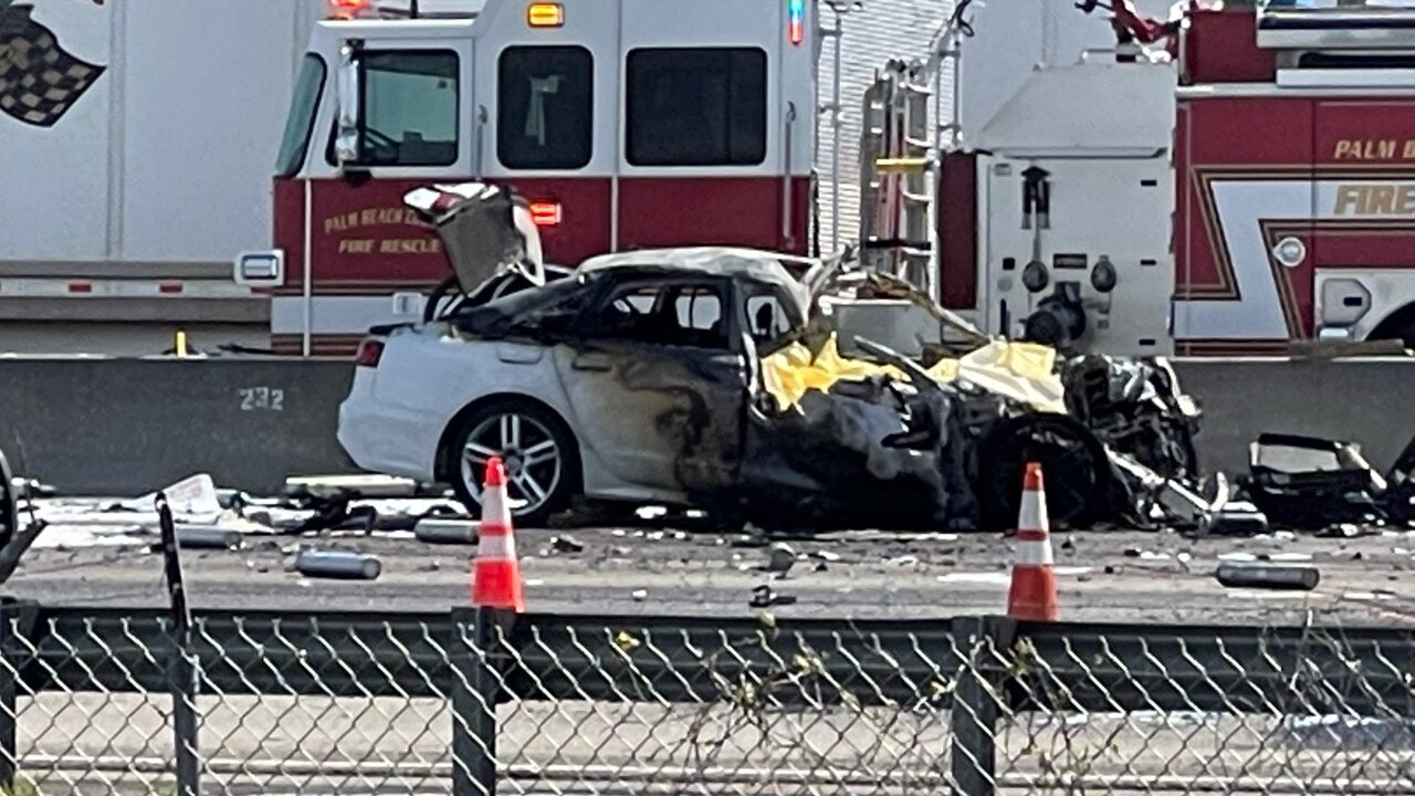 A deadly crash on the Florida Turnpike at mile marker 81 in west Delray Beach on March 15, 2021 (1).jpg