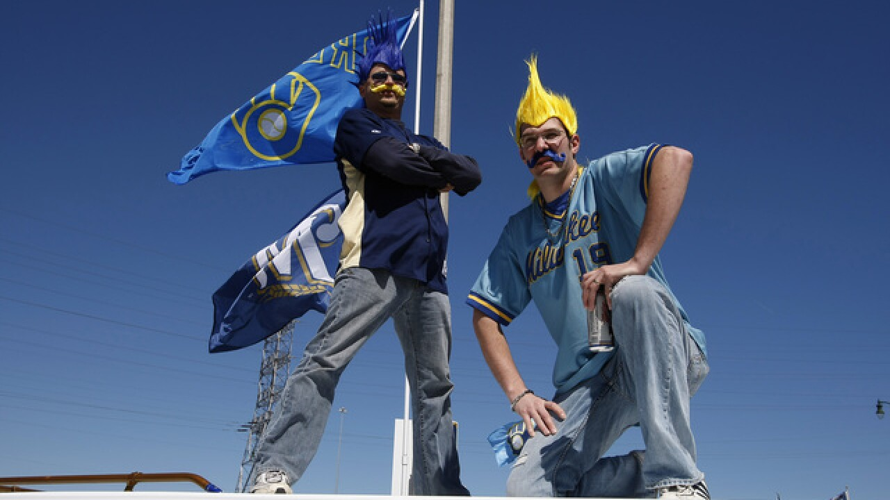 Milwaukee Brewers ranked #10 for most loyal fan base
