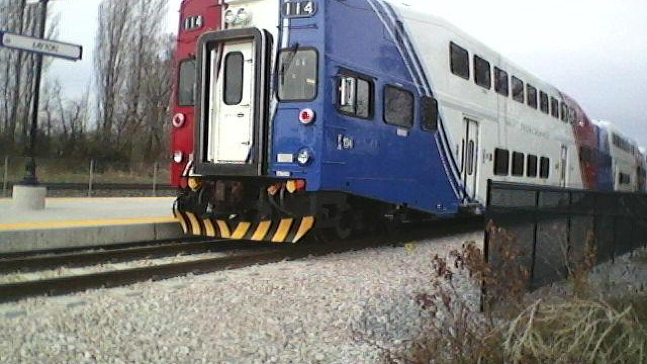 FrontRunner train hits, injures woman in Layton