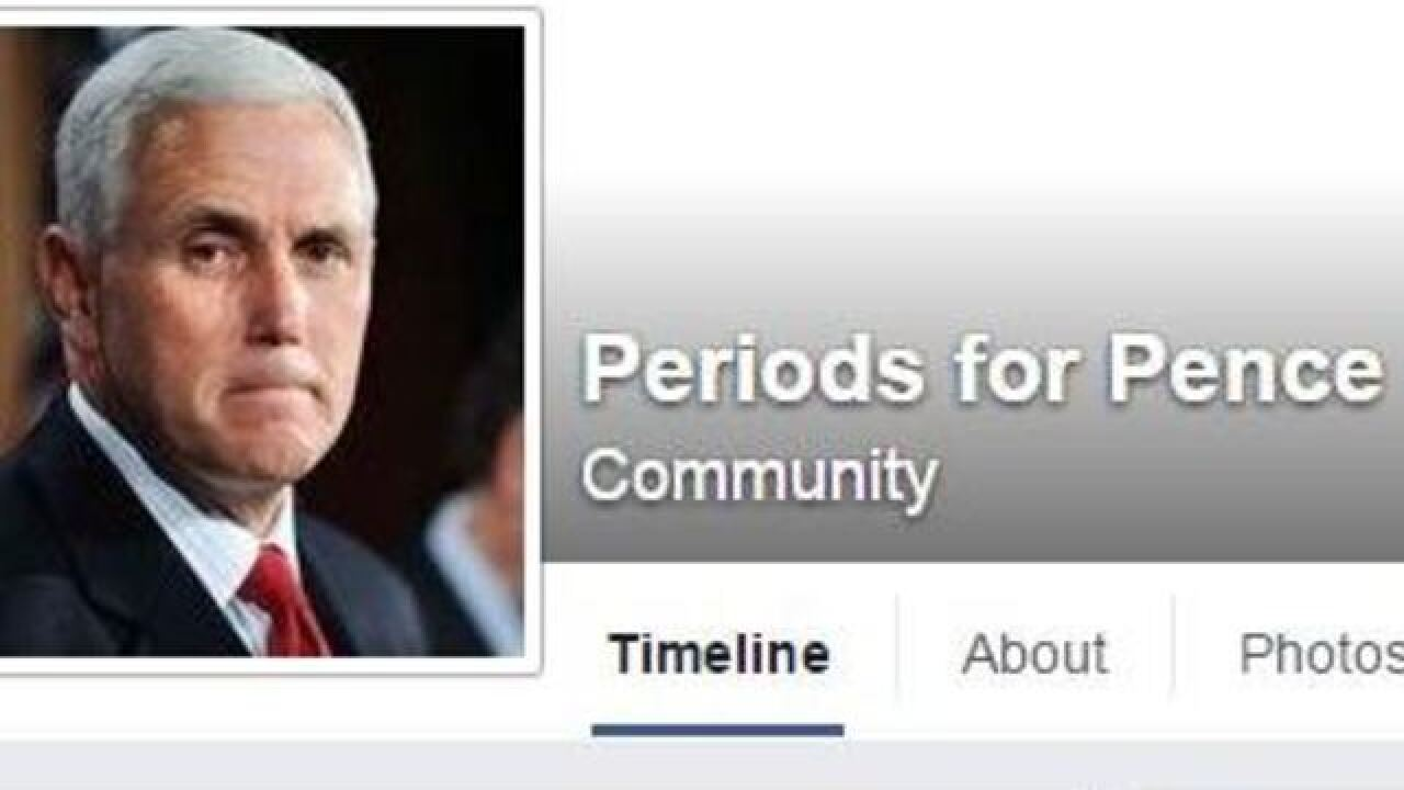 Women tell Indiana governor about their periods