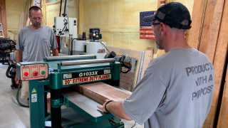 Operation Honor woodworking