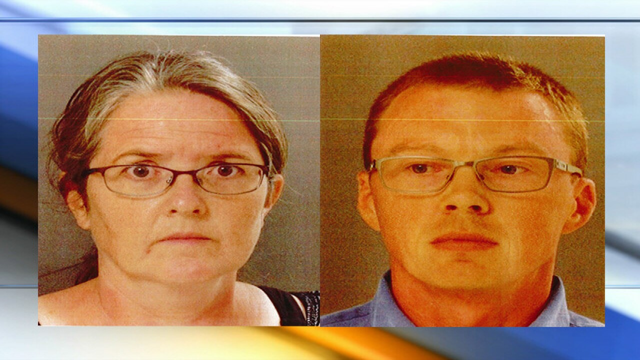 Kansas mother and father accused of abusing adopted children