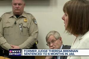 Former Judge Theresa Brennan sentenced to 6 months jail for perjury guilty plea