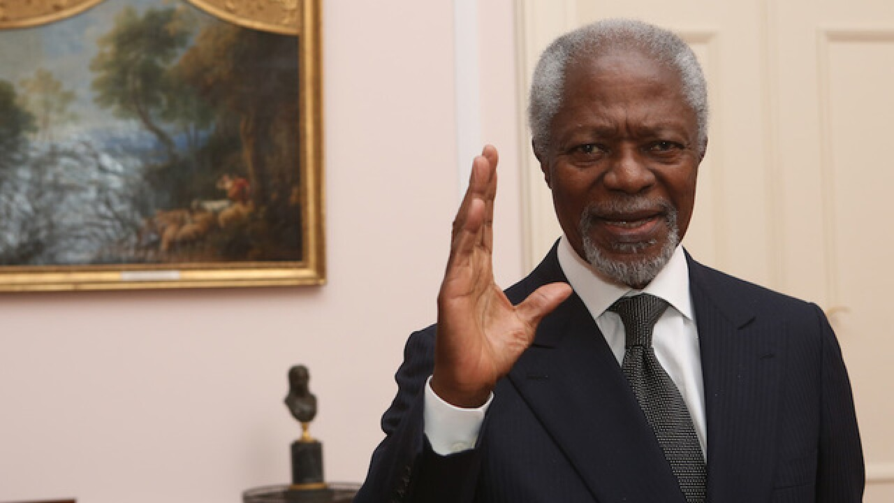 Kofi Annan, former UN Secretary-General, dead at age 80