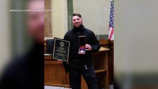 DEPUTY ROSS JESSOP RECEIVES AWARD