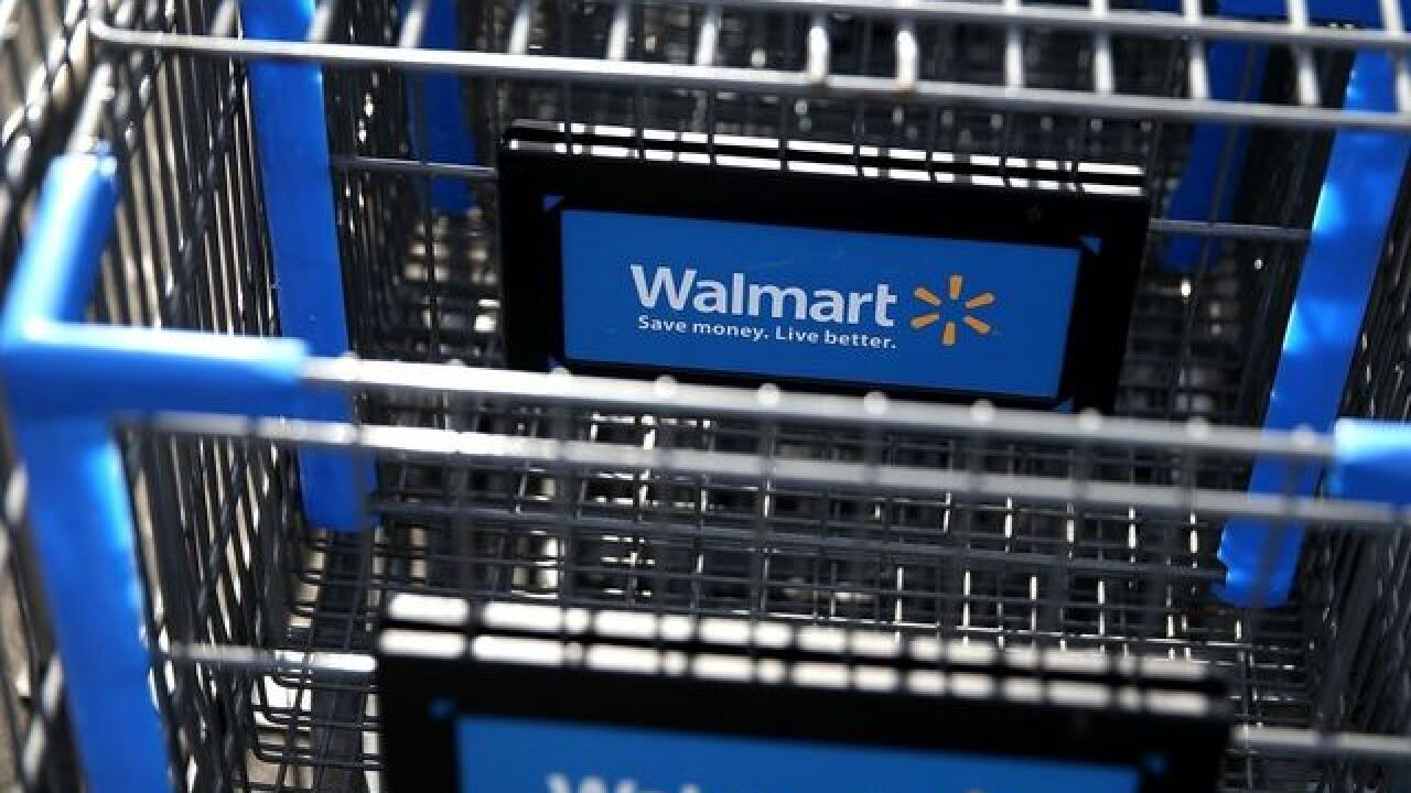 Walmart offers online grocery shopping and pick up service