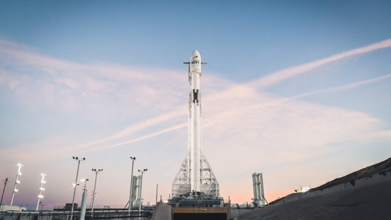 SpaceX launches moon lander, satellite Thursday night