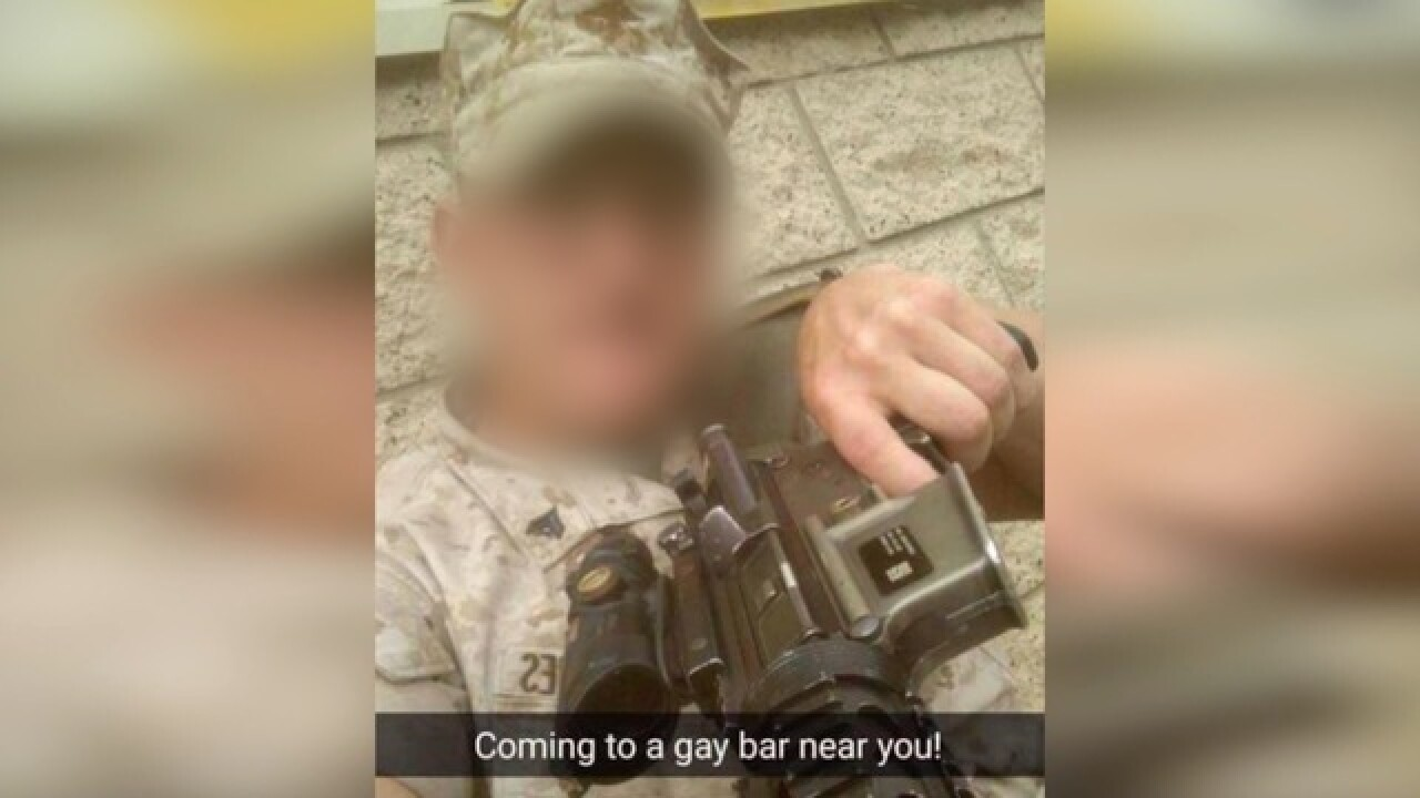 'Coming to a gay bar near you': Camp Pendleton Marines post gun threat on  Facebook