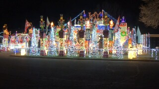 Billings North Pole lights celebrate Christmas