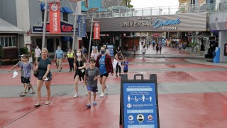 Universal takes first steps reviving Orlando theme park biz
