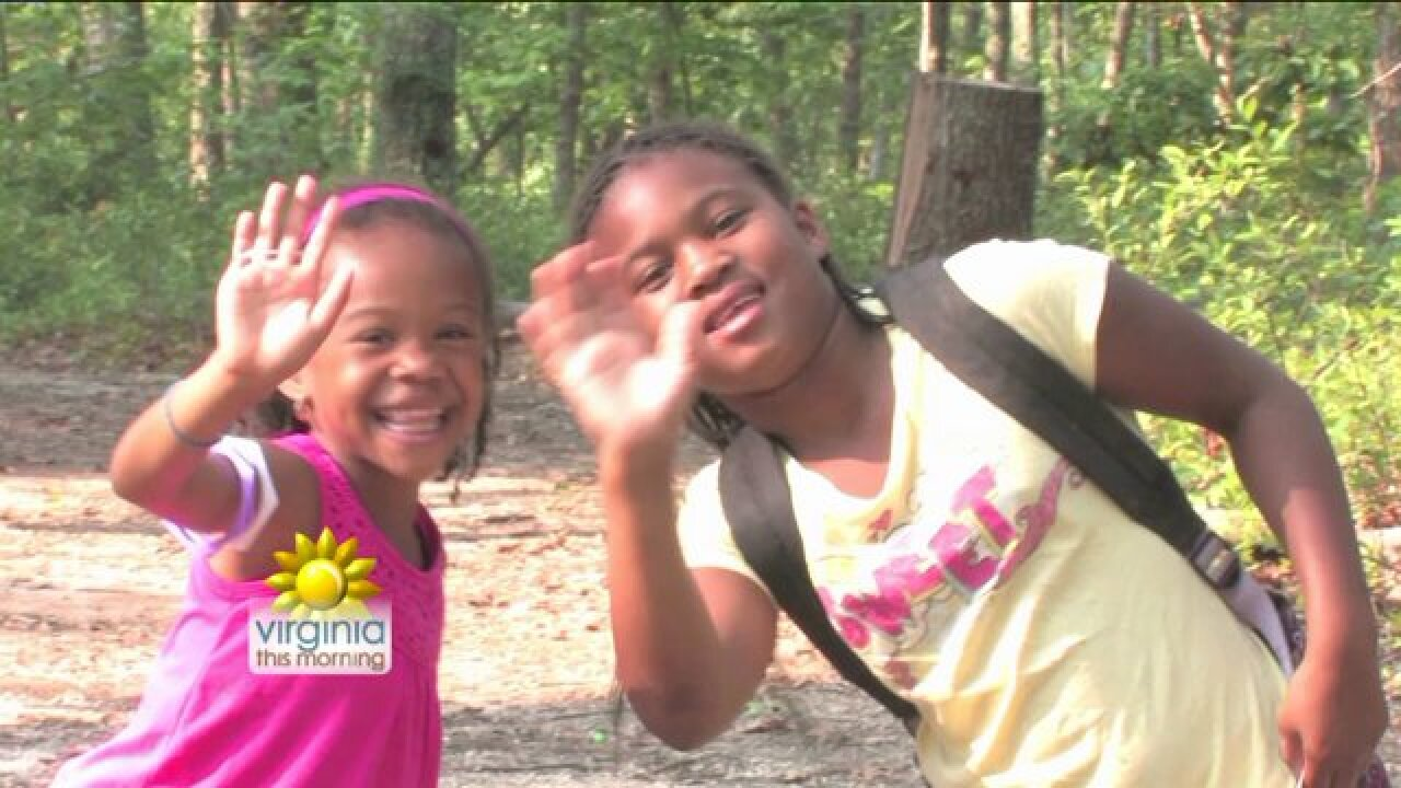Kids get out and get active at YMCA SummerCamp!