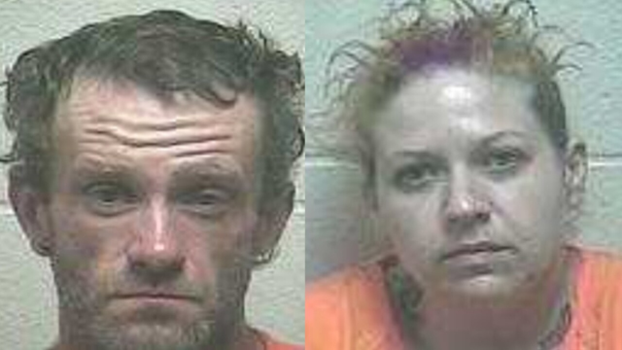 Meth For Resale Found; 2 Arrested In Giles County