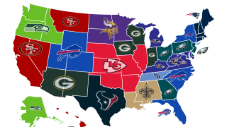 NFL Playoff Map
