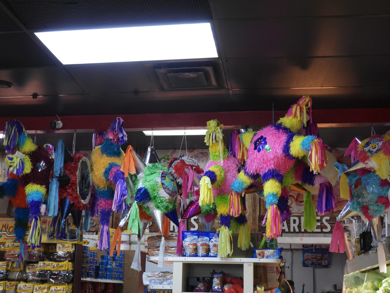The San Antonio market features Mexican products.JPG