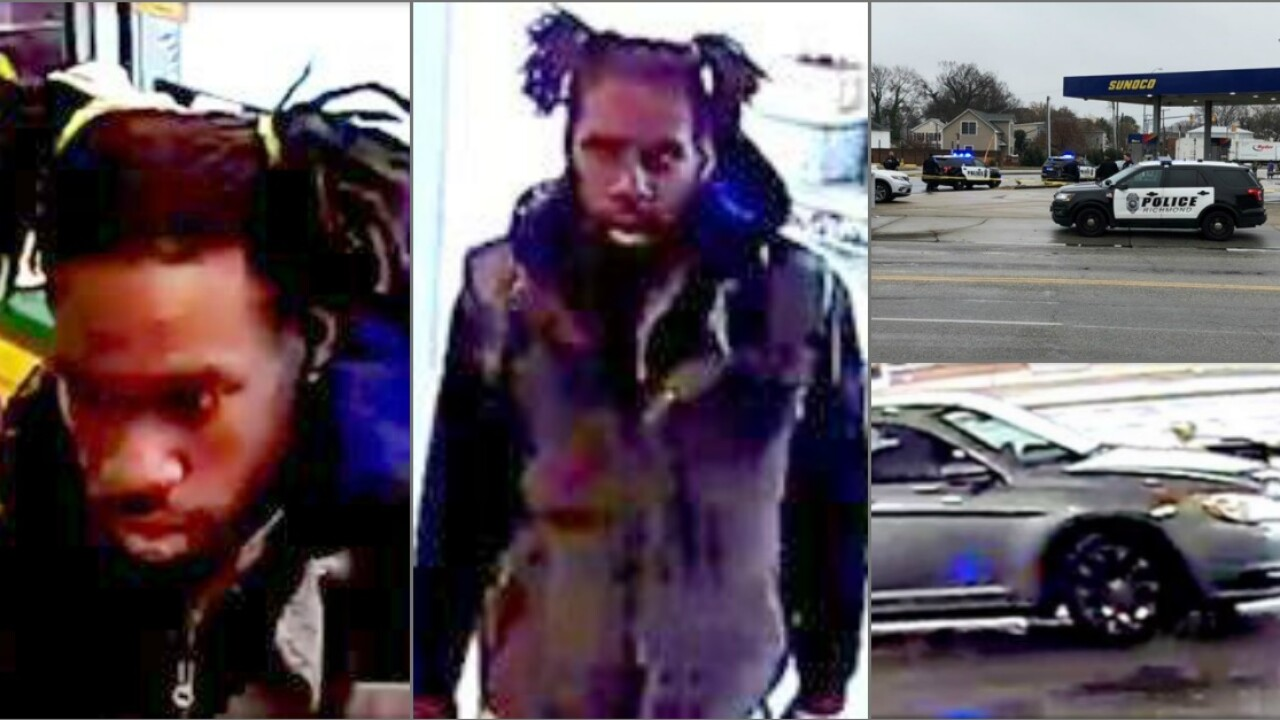 Man wanted for attempted murder after 'deliberate and brutal' gas station shooting