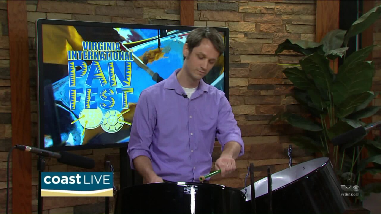 The sound of steel drums as we preview PANFest on Coast Live
