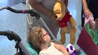 Las Vegas girl with rare genetic disorder returns from Utah