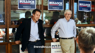 Bullock releases first two TV ads in Iowa