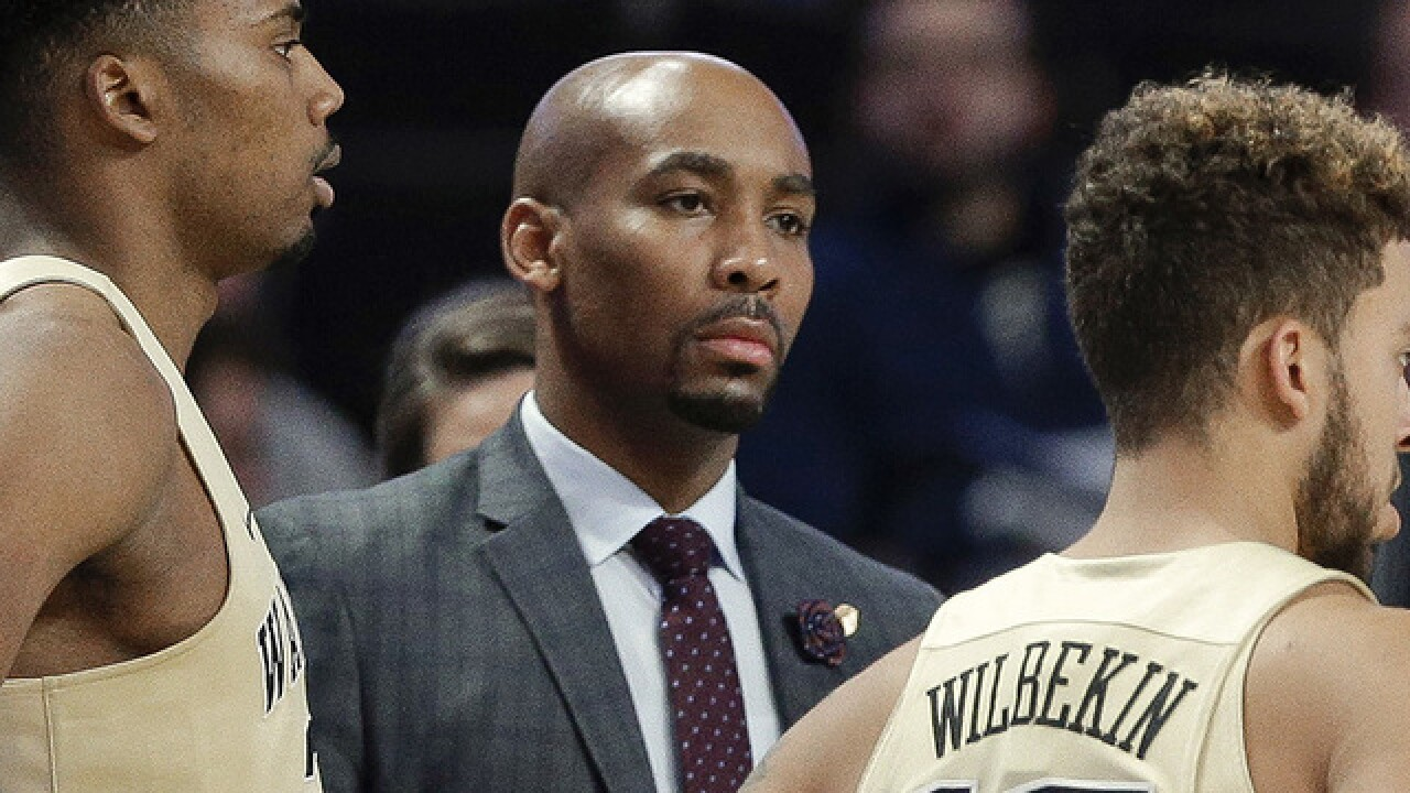 Wake Forest basketball coach Jamill Jones pleads not guilty in fatal punch