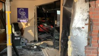 Car into The Boardroom in Littleton_Feb 17 2020