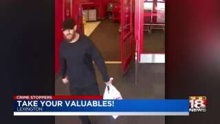 Crime Stoppers: Police Looking For Thief After Car Break-In At YMCA