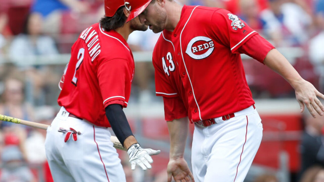 Popo in 9: The Reds are riding a seven-game winning streak (no, seriously)