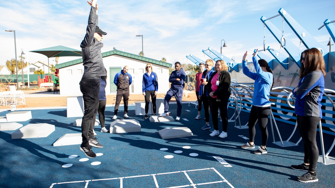 National Fitness Campaign Ambassadors training session on the new Las Vegas Fitness Court.jpg