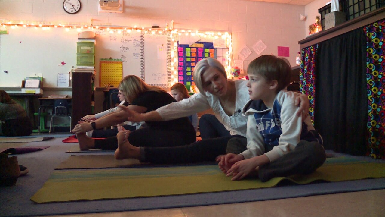 How inclusion and yoga is helping students with autism in Hanover