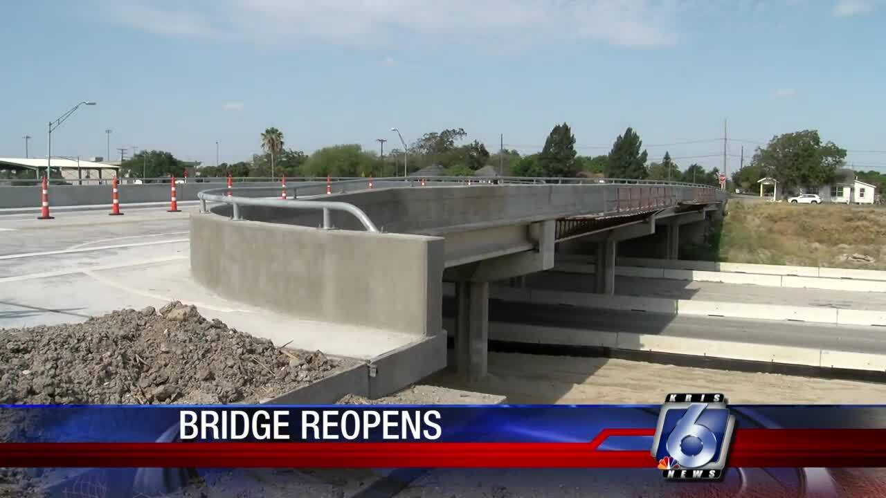 Comanche Street Bridge reopens