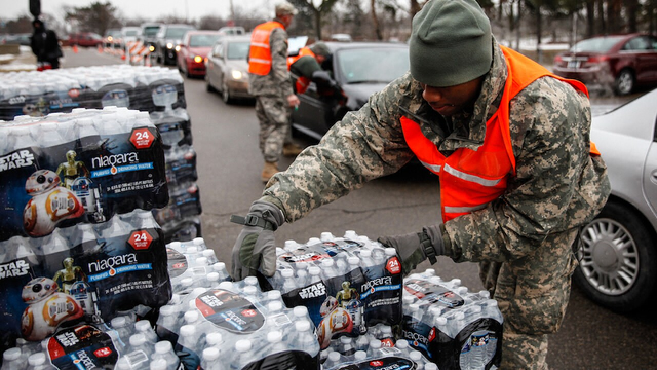 Flint, Michigan still dealing with water crisis