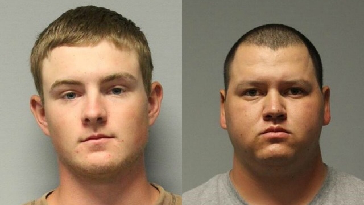 YCSO: Two arrested for abusing calf