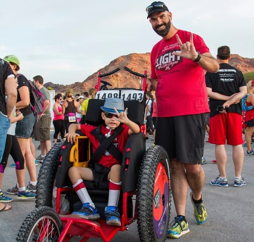 8-year-old Golden Knights fan battling undiagnosed condition