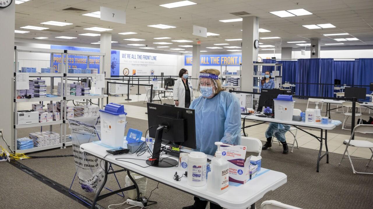 Virus Outbreak New Jersey