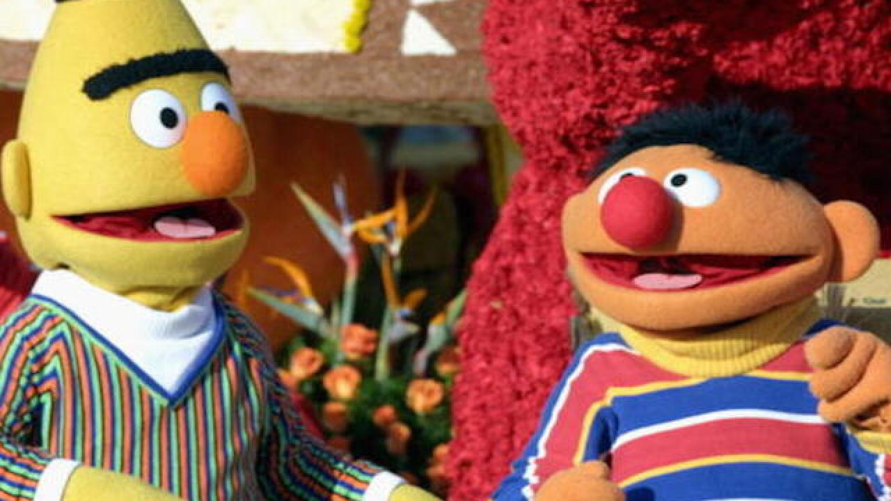 Sesame Street denies writer's stance that Bert and Ernie are gay