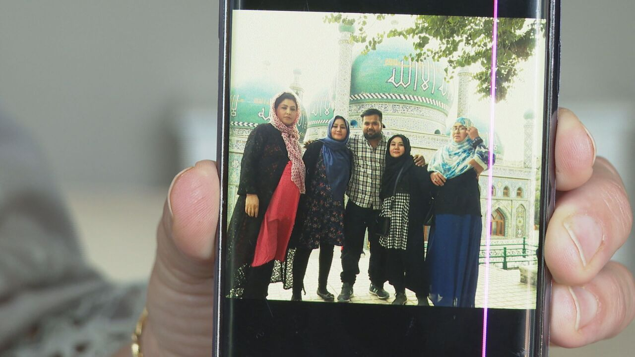 Local Afghan families plead for safe evacuation of loved ones, while refugee resettlement office prepares for influx of people