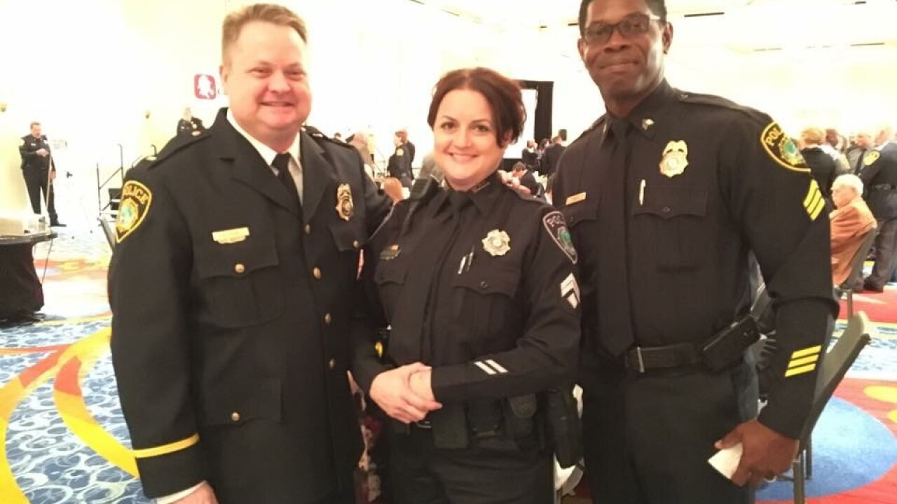 Newport News School Resource Officer awarded for exceptionalwork