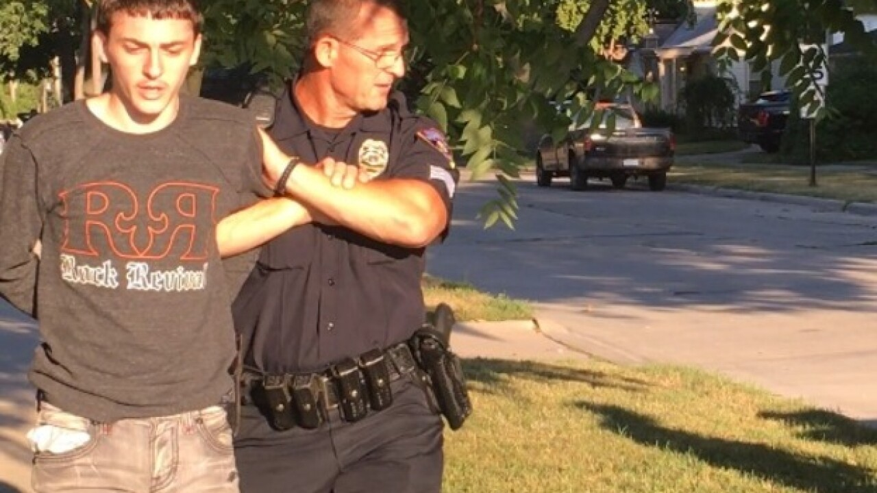 Police standoff at home in Dearborn Heights