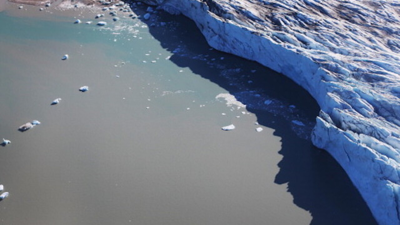 Massive ice sheets in Greenland are melting at an 'unprecedented' rate