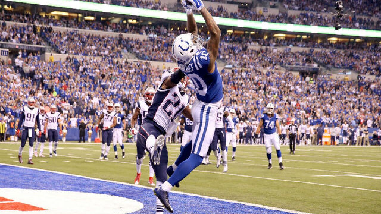 Former Colts wide receiver Donte Moncrief signs 1-year deal with Jacksonville Jaguars