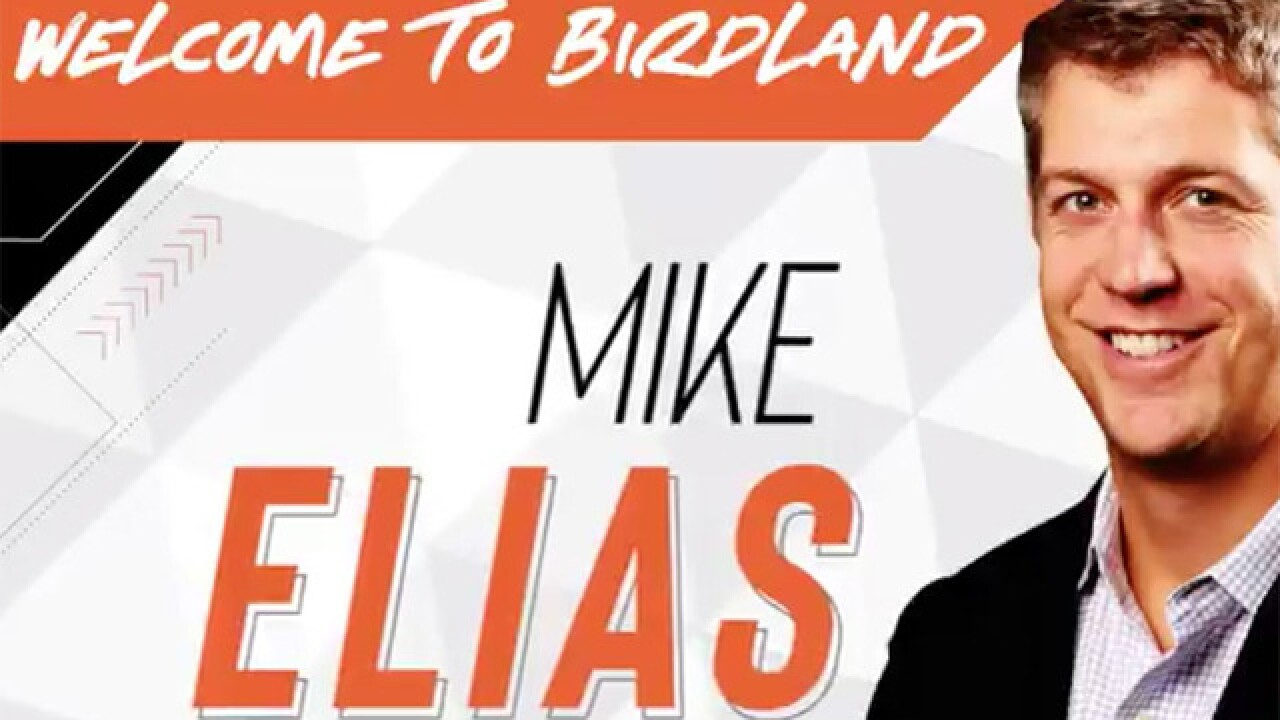 Orioles name Mike Elias new Executive Vice President and General Manager